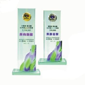 HA-209A&B 彩透琉璃獎座